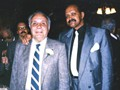 Spider Jones with boxing great Jake LaMotta