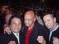Spider Jones with Roberto Duran
