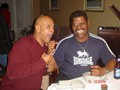Spider and former Heavy Weight champ Leon Spinks